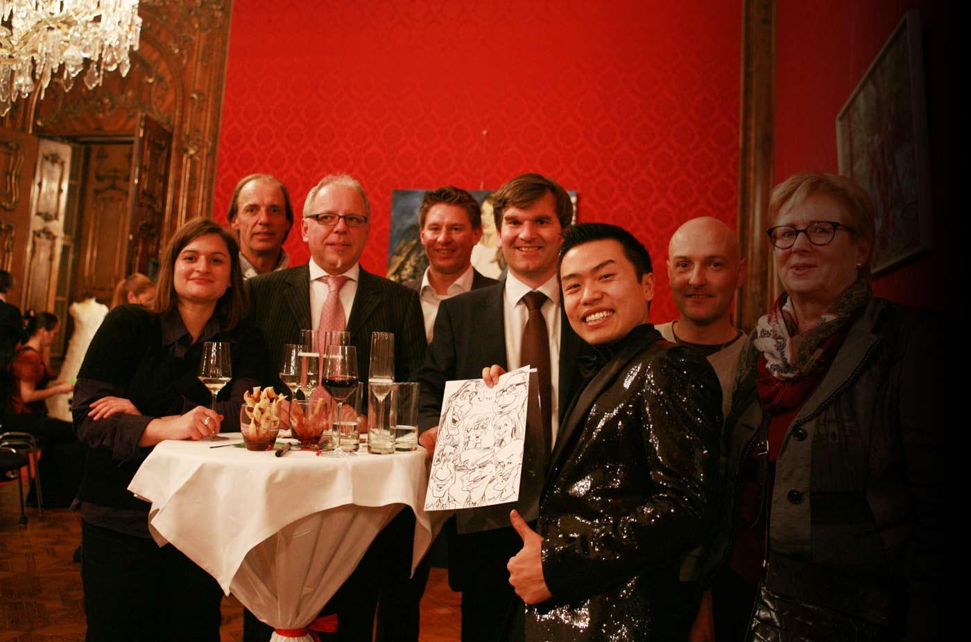 Karikaturist / Schnellzeichner für Betriebsfeiern und Mitarbeiter-Veranstaltungen