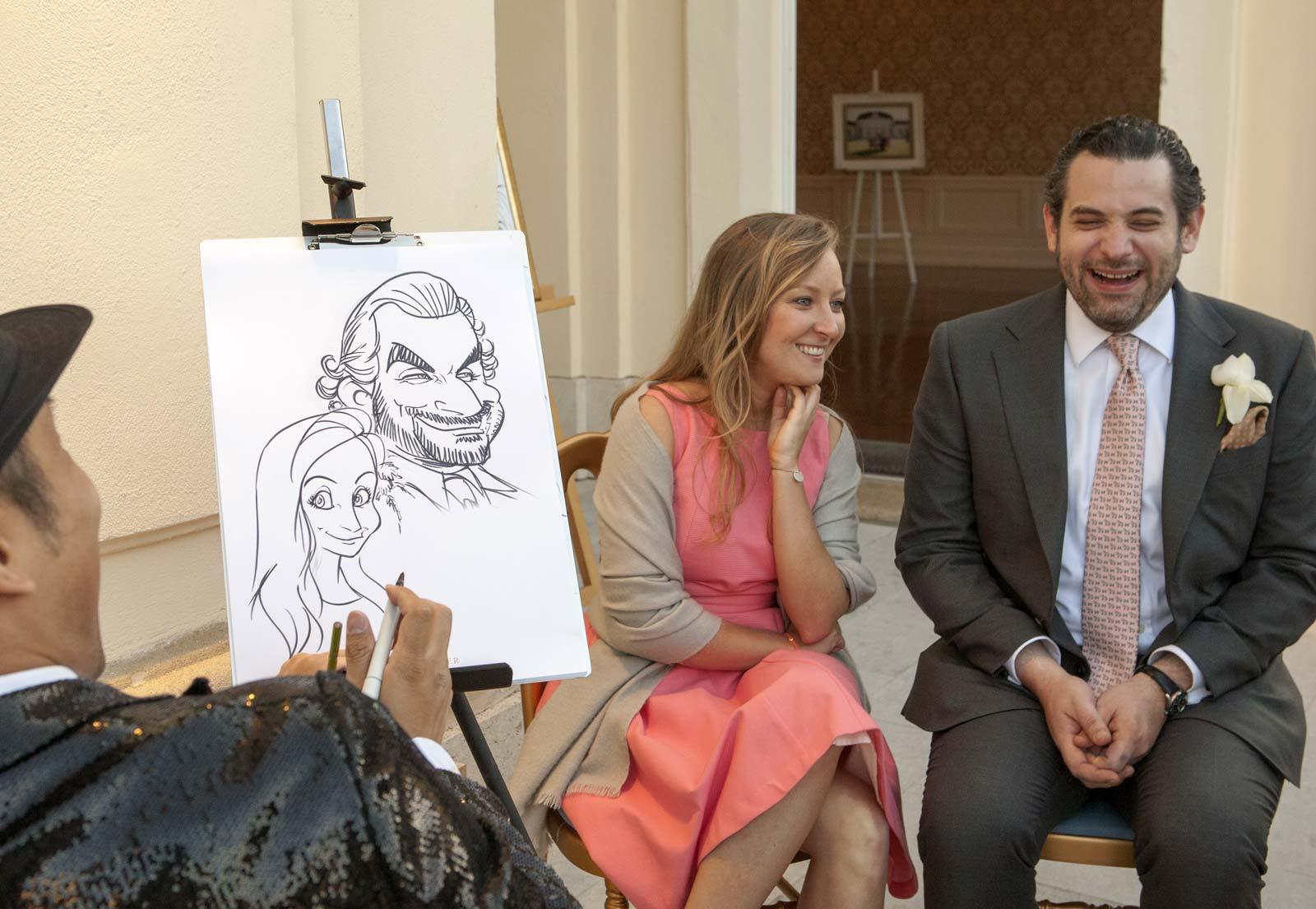 Karikaturist und Schnellzeichner für Bern
