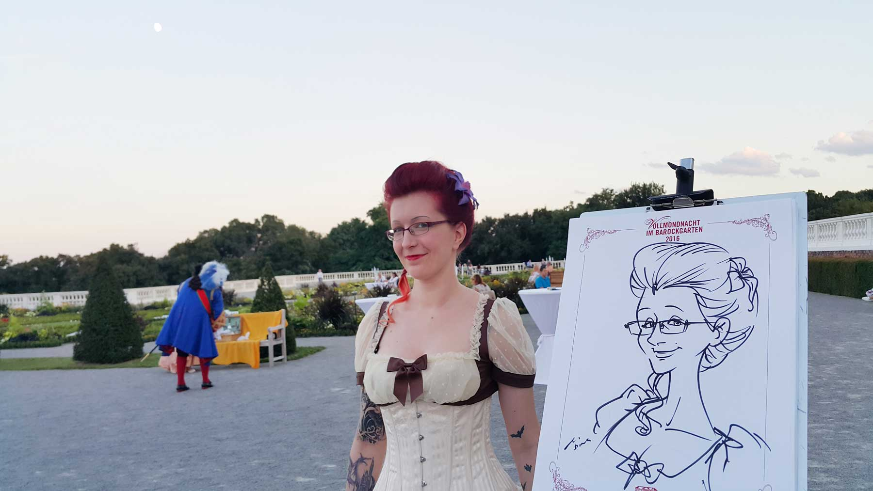 Karikaturist und Schnellzeichner für Luzern