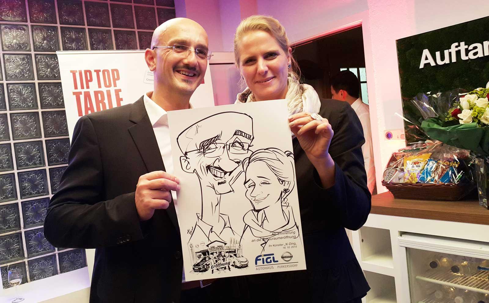 Karikaturist und Schnellzeichner für St. Gallen
